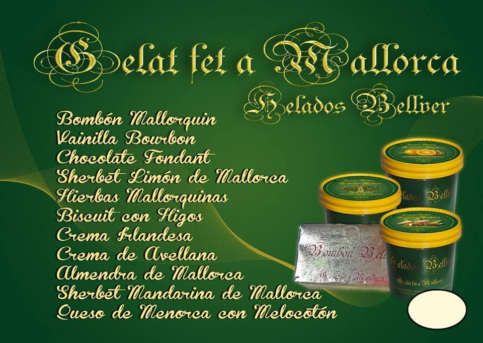 Deliciosos sabores del Gelat fet a Mallorca
