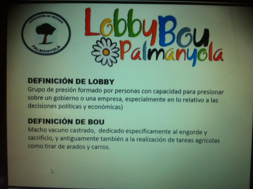 El por qué de lobby bou