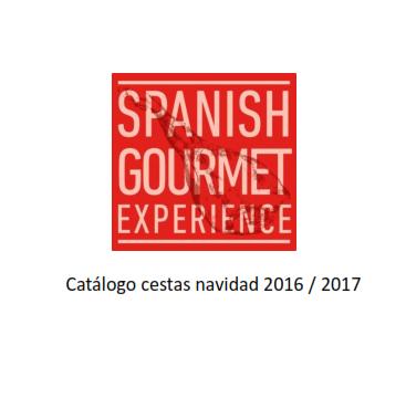 CATÁLOGO CESTAS NAVIDAD 2017
