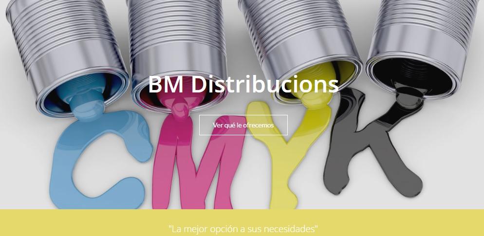 PAGINA PRINCIPAL BM DISTRIBUCIONS