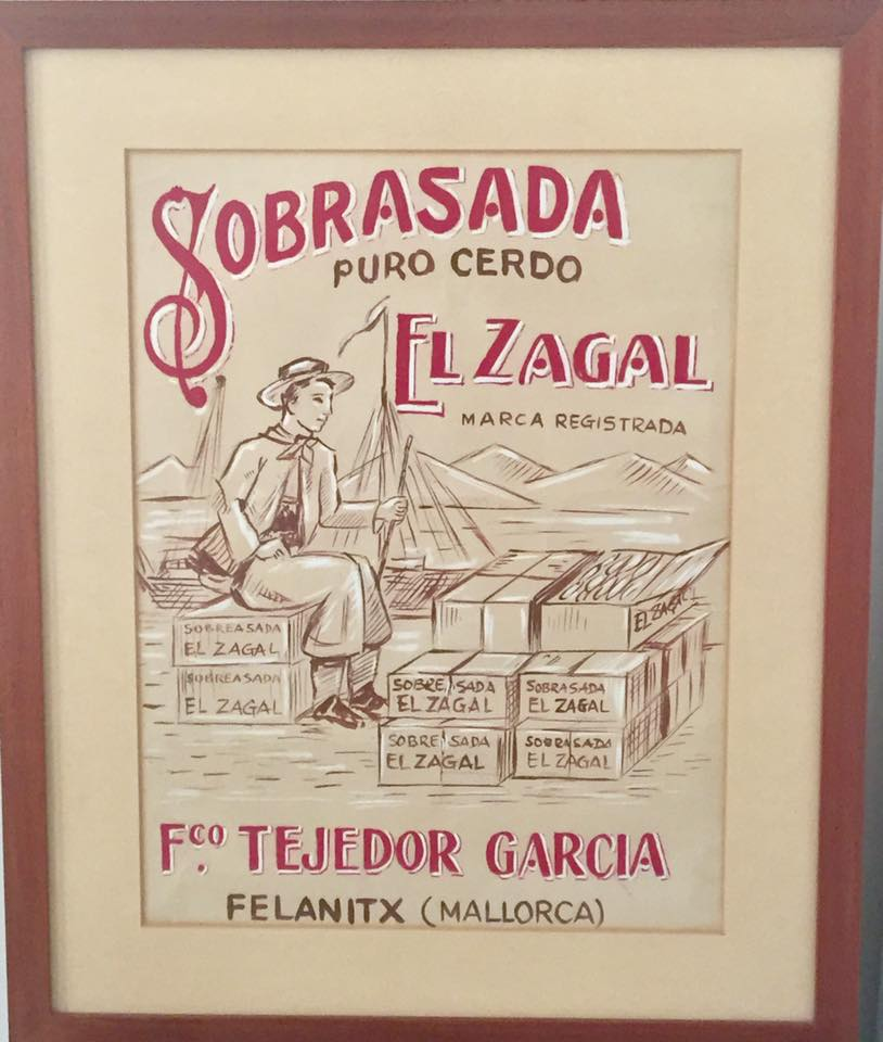 cartel el zagal antiguo