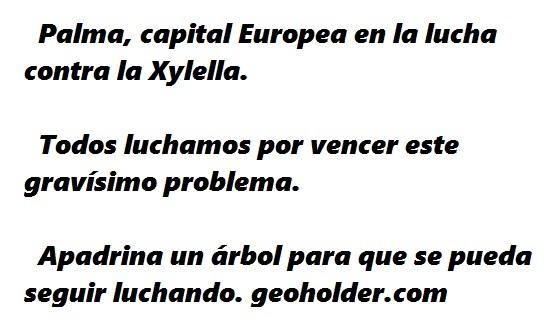 CAPITAL EUROPEA CONTRAL LA XYLELLA